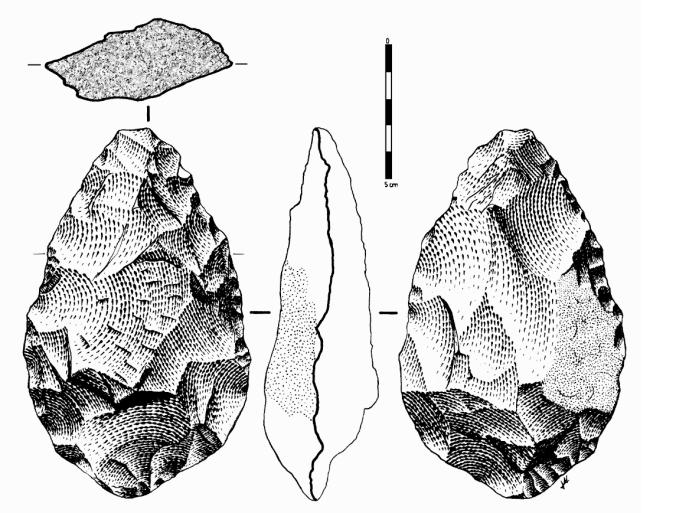 hand axe spanish